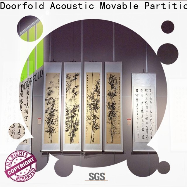 Doorfold moderndesign acoustic movable walls made in china for movie