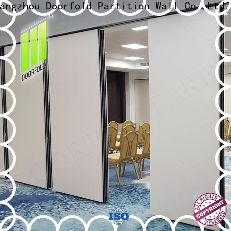 best price Folding Partition Wall vendor for meeting room