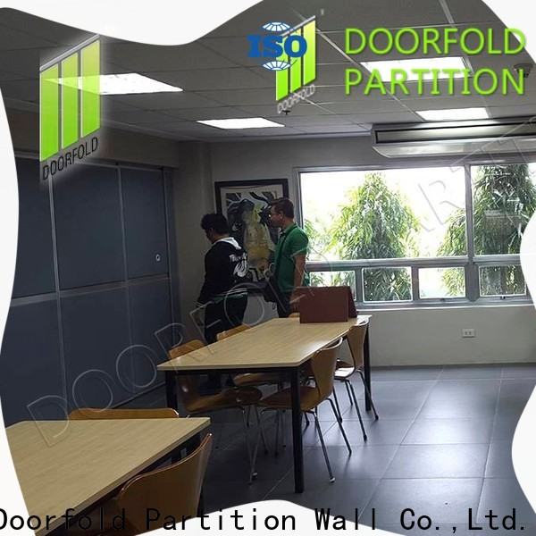 collapsible soundproof partition wall for meeting room