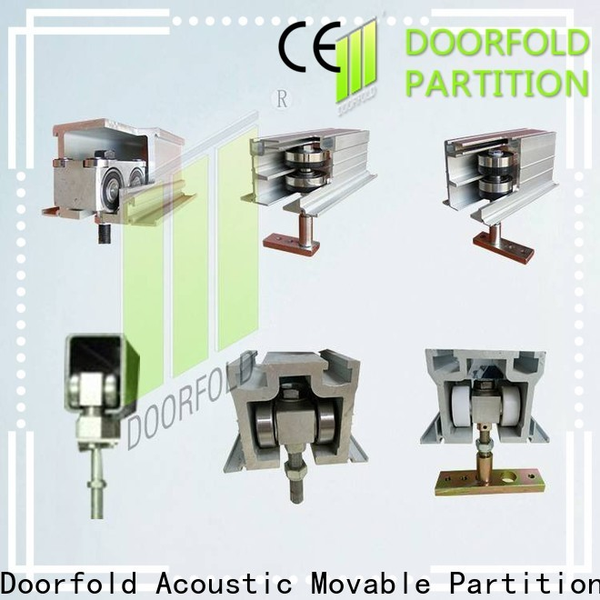 Doorfold water proof commercial restroom hardware easy operation for theater