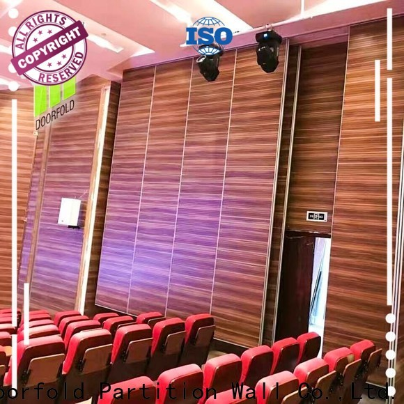Doorfold national standard sound proof partitions best supplier for display