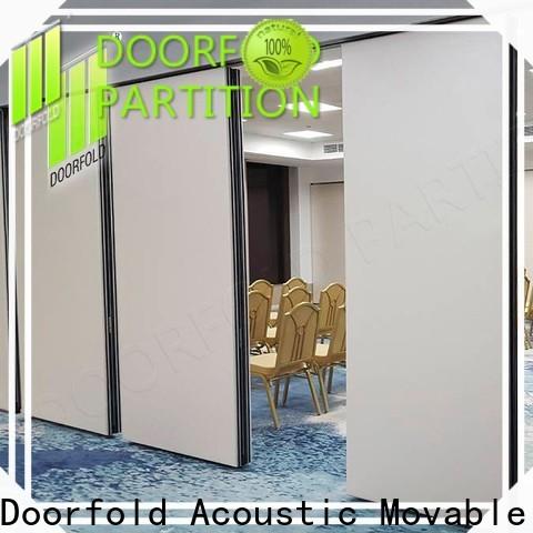 Doorfold acoustic sliding folding partition national standard for office