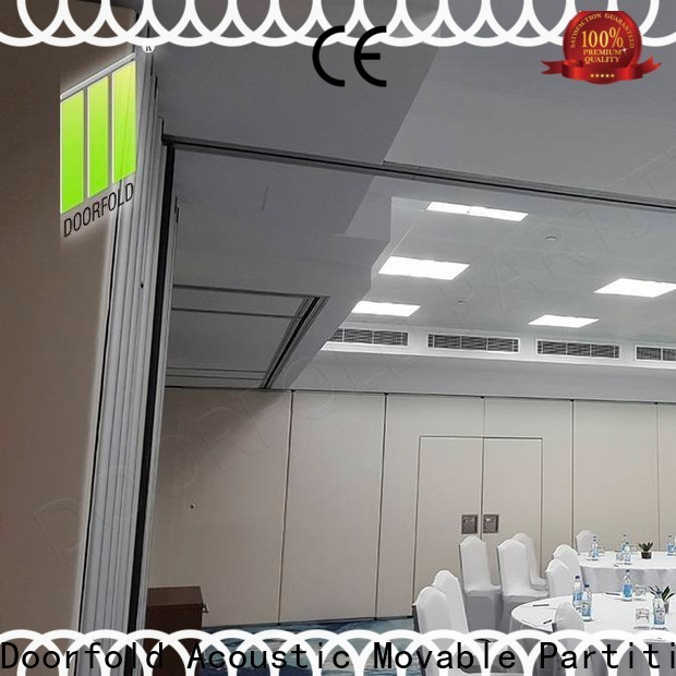 retractable soundproof divider for meeting room