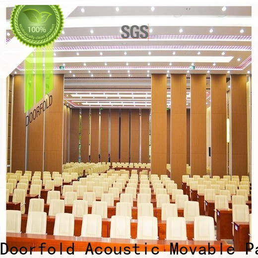 Doorfold retractable partition national standard for conference