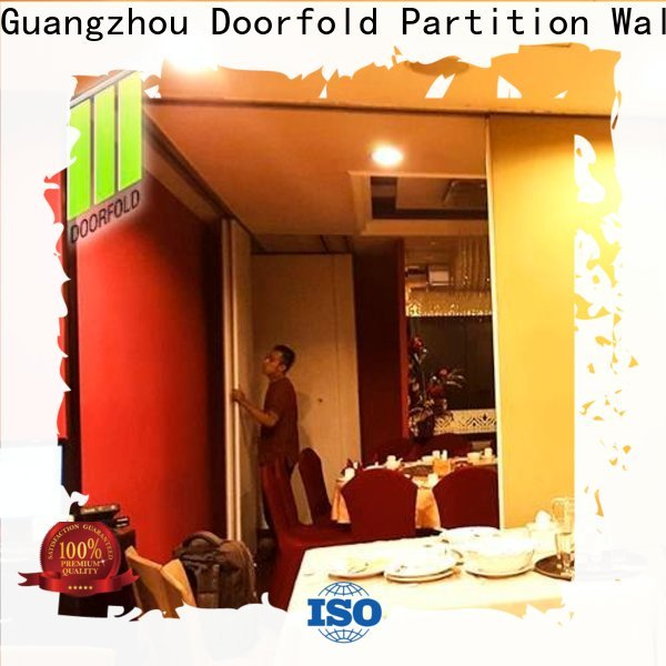 Doorfold acoustic commercial room dividers fast delivery for wholesale