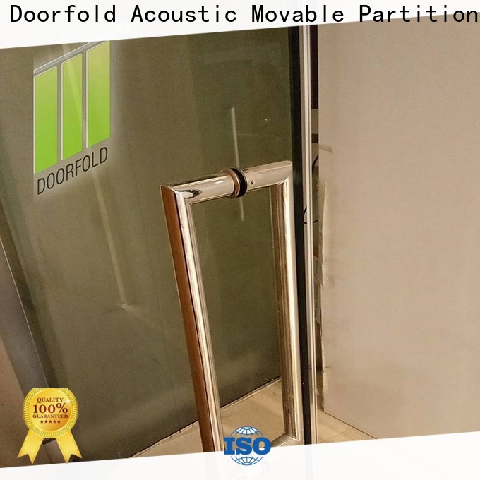 chic movable glass partition top-selling for Commercial Restaurant