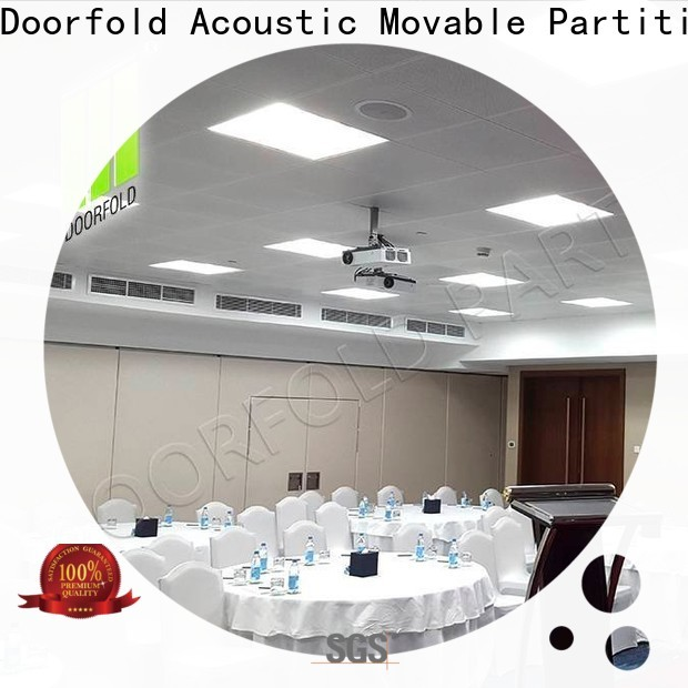 Doorfold hot sale temporary office walls marketing for commercial room