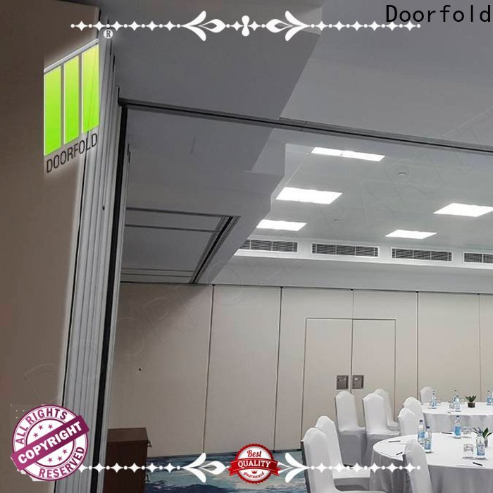 Doorfold reliable quality custom room divider for theater