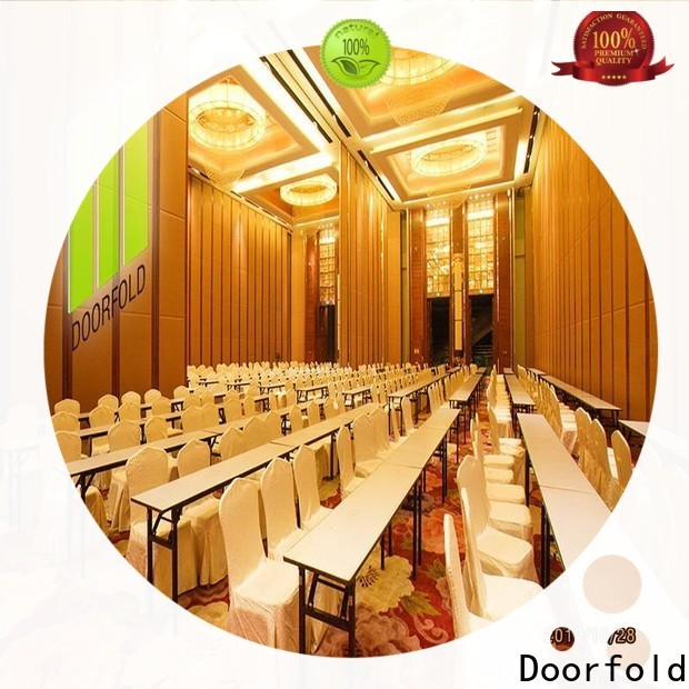 Doorfold hall partition with good price for hall