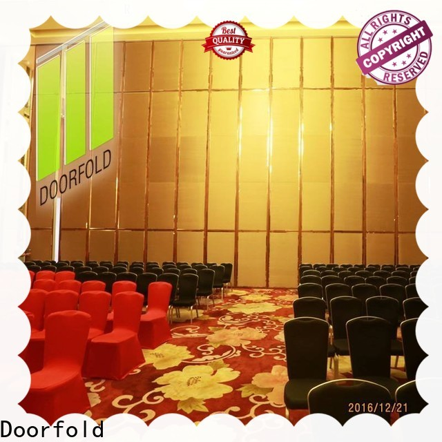 Doorfold operable folding partition wall suppliers free design decoration