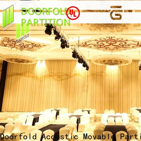 Doorfold room partition wall best supplier for conference centers
