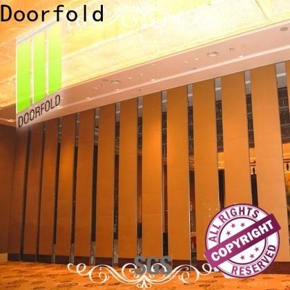 Doorfold decorative Hotel ballroom Movable Walls made in china meeting room