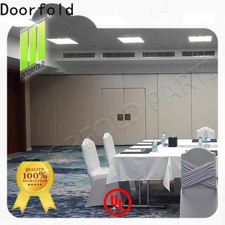 Doorfold affordable sliding folding partition new arrival for office