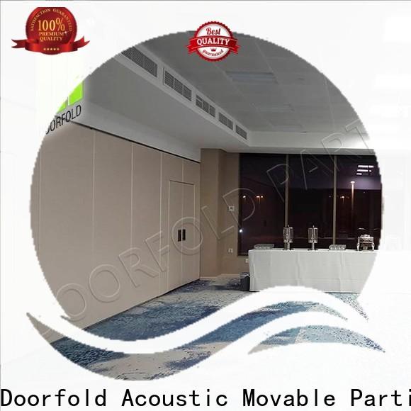 Doorfold international sliding partition easy installation for meeting room