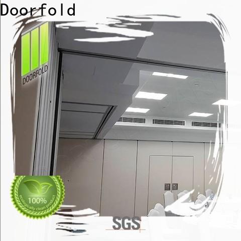 Doorfold soundproof divider for meeting room