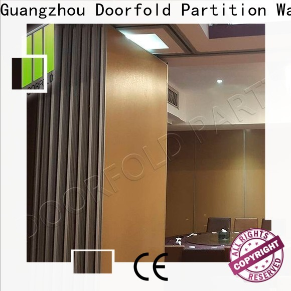 Doorfold sliding folding partition luxury For Soundproof