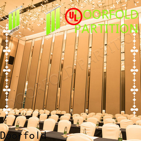 Doorfold conference room partition walls multi-functional meeting room