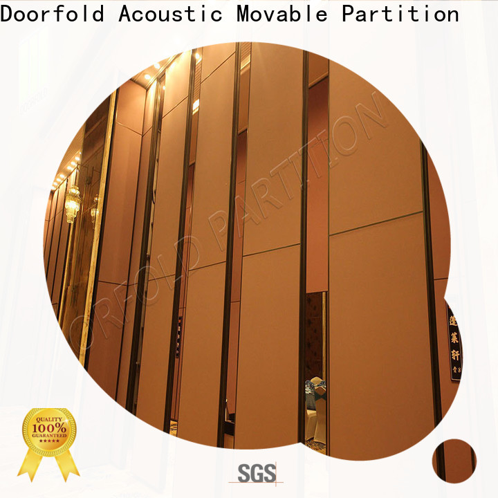 Doorfold custom interior office partition walls high performance best factory price