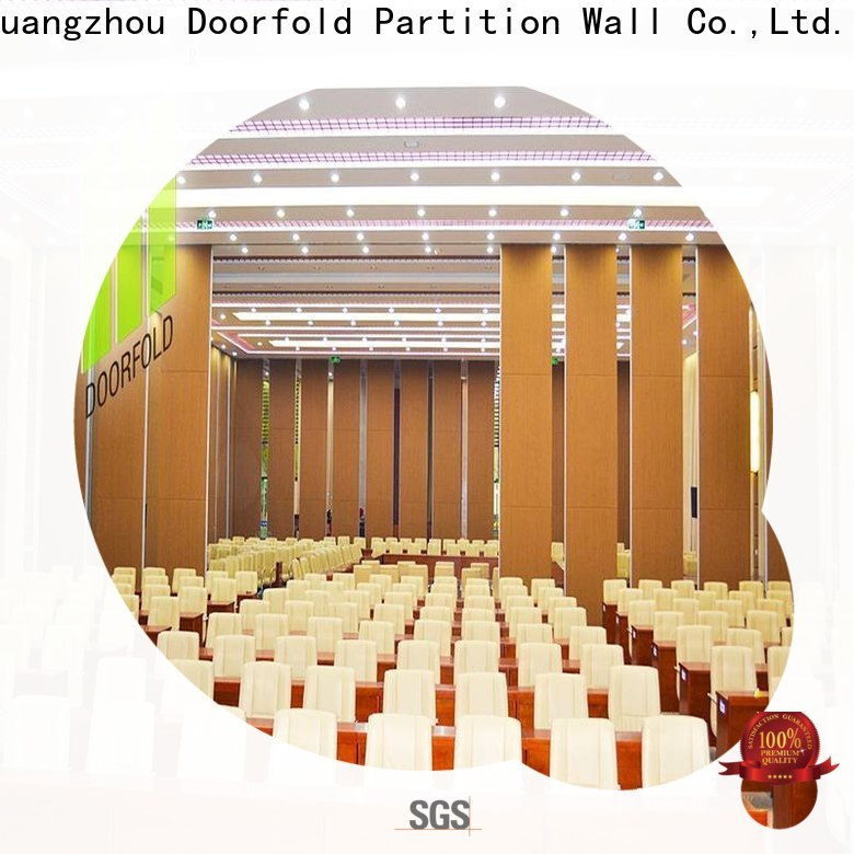 Doorfold Folding Partition Wall supplier for office