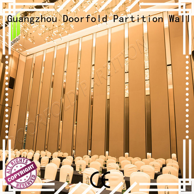 Doorfold movable partition spatial acoustic movable partitions at discount for restaurant