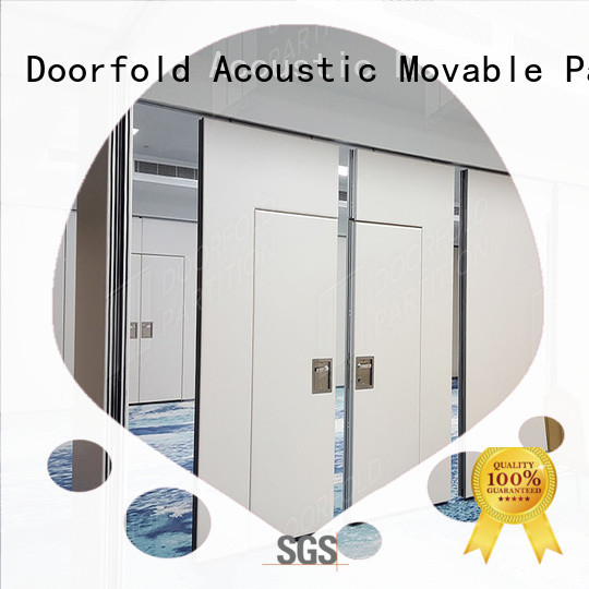 Doorfold conference room dividers easy installation best factory price
