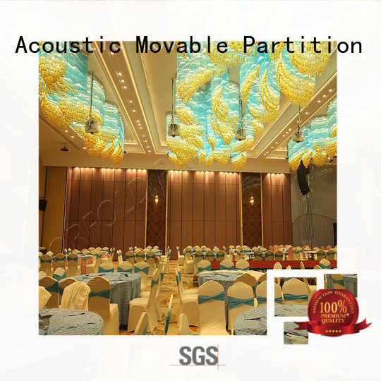commercial Sliding Partition Wall for Hotel partition for office