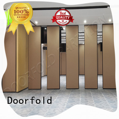 movable acoustic walls sliding folding partitions hotel for conference room Doorfold