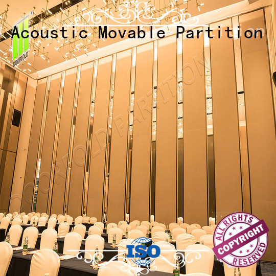 retractable hall acoustic movable partitions meeting room