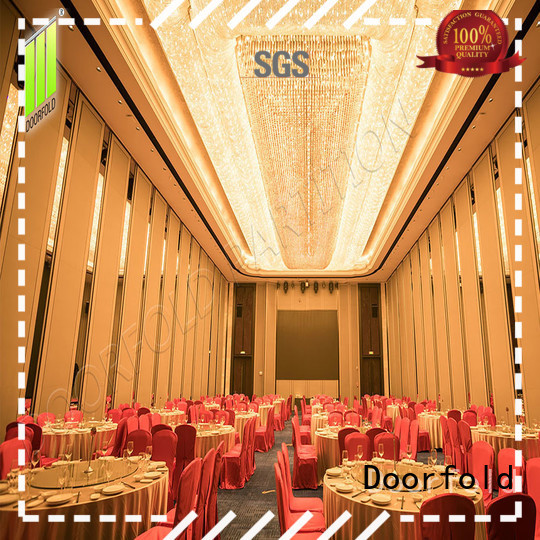 commercial Sliding Partition Wall for Hotel luxury for restaurant