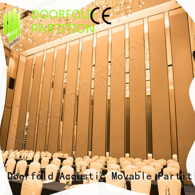 lan Hotel ballroom Movable Walls yun for conference Doorfold