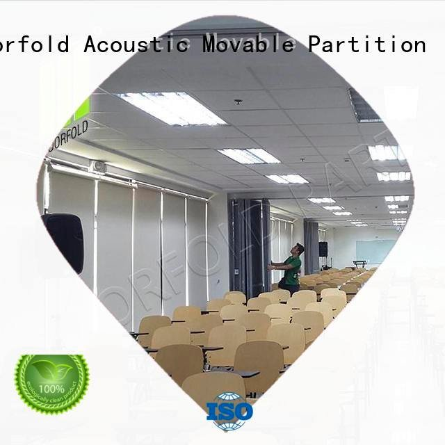 exhibition room Doorfold movable partition commercial partition walls