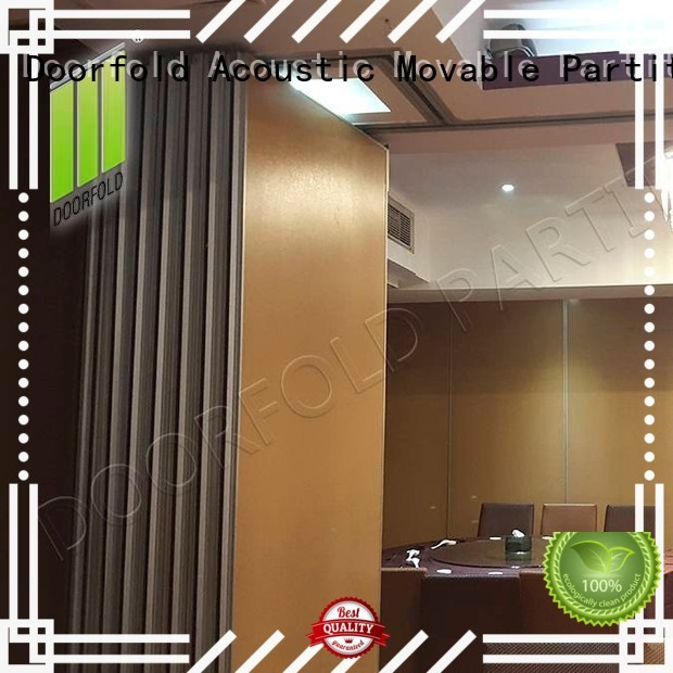 Doorfold sliding folding partition high-end