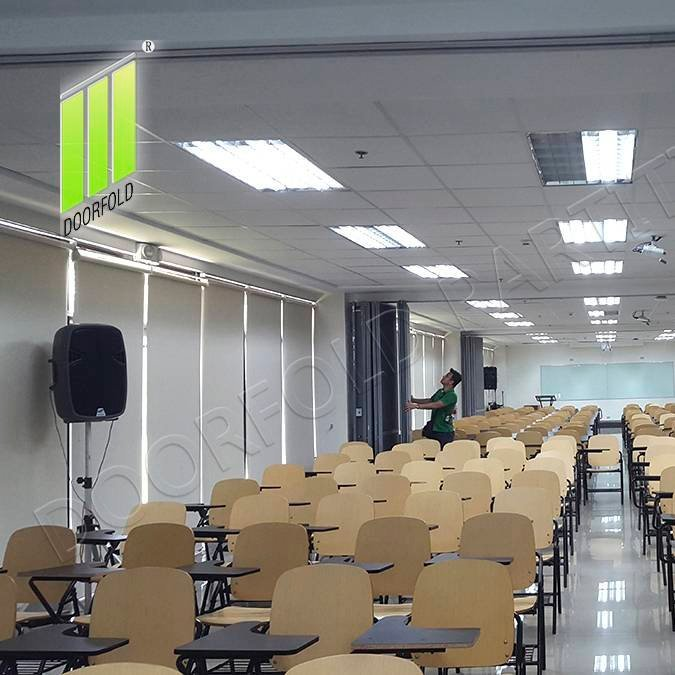 Folding Partitioin for Commercial Room (DELA SALLELIPA COLLEGE)