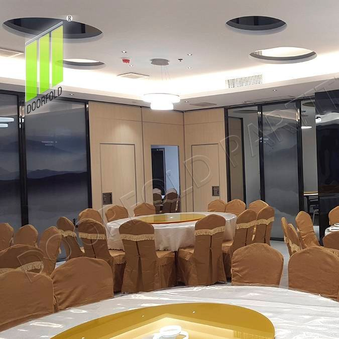 Folding Partition Wall for Hotel (Malaysia Golden Seafood Restaurant)