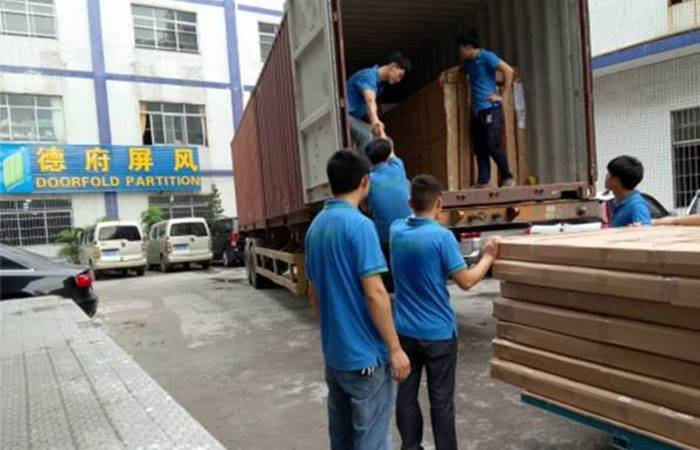 DOORFOLD SHIPS THE CONTAINER FOR HIS CLIENT