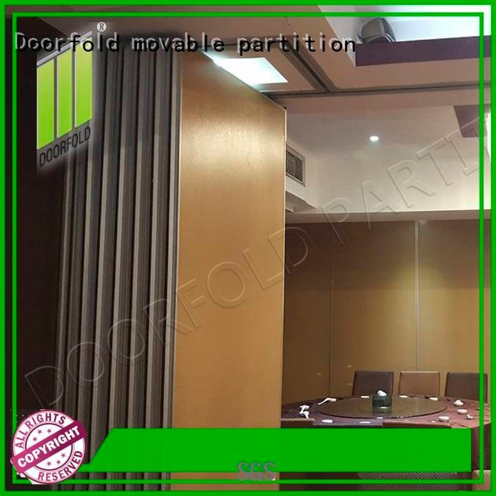 hotel flexible sliding folding partition wall Doorfold movable partition