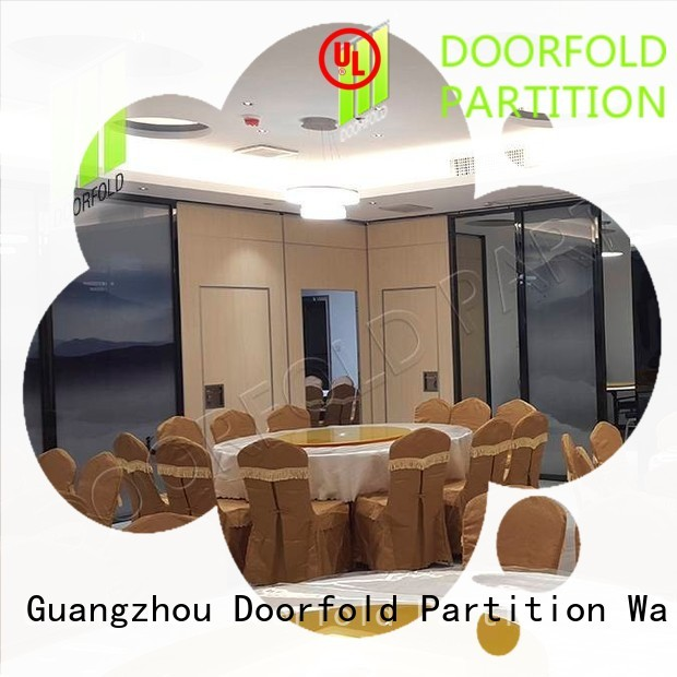 Doorfold movable hall acoustic movable partitions hot-sale for meeting room