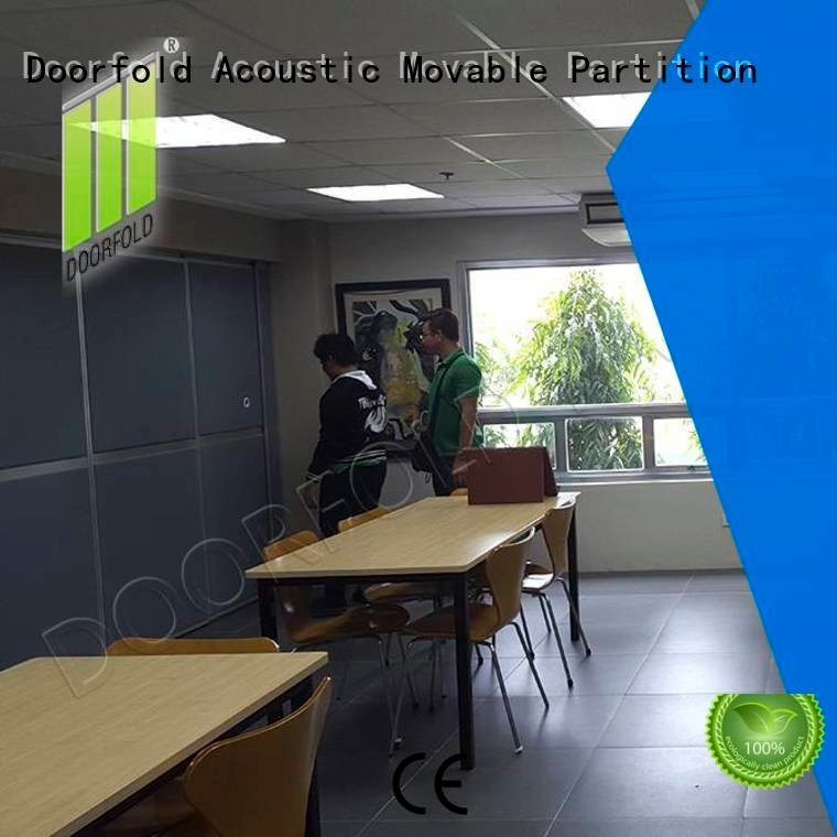 Doorfold movable partition Brand soundproof collapsible soundproof office partitions sound partition