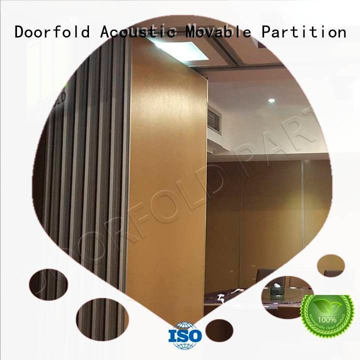 Doorfold movable partition retractable wall commercial sliding glass partition walls movable