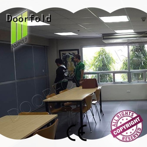 Doorfold soundproof office partitions acoustic for meeting room
