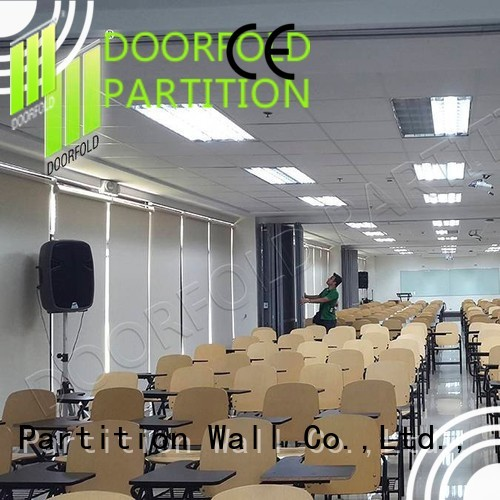 manila dela OEM folding partition walls commercial Doorfold movable partition