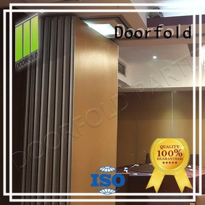 Doorfold Sliding Partition Wall for Hotel luxury for restaurant