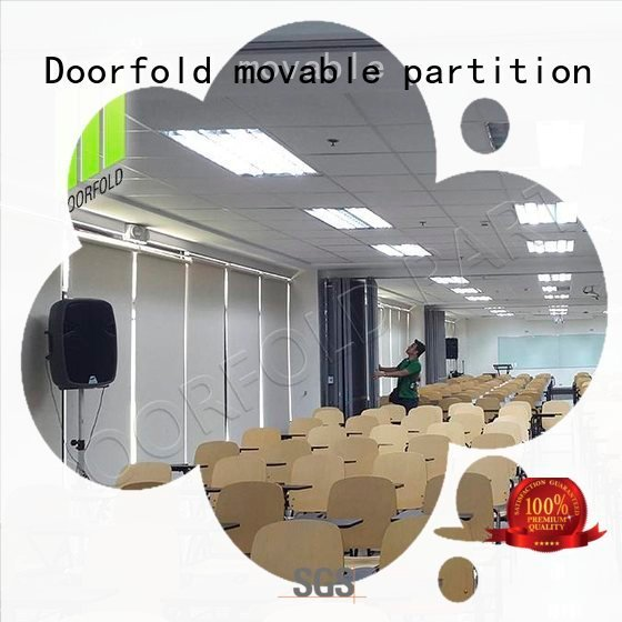 Doorfold movable partition exhibition divider folding commercial partition walls partition