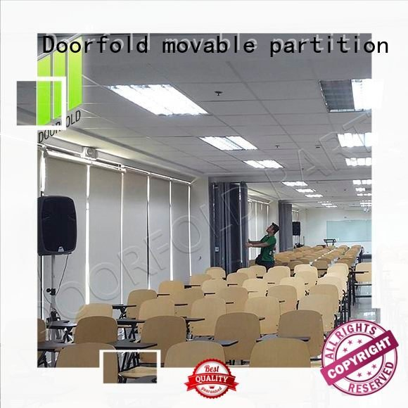 commercial partition walls acoustic Doorfold movable partition Brand