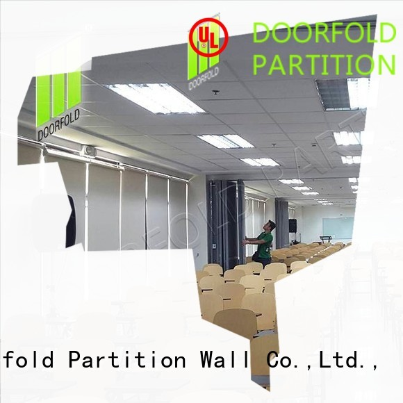 Doorfold movable partition Brand sound folding partition walls commercial lan factory