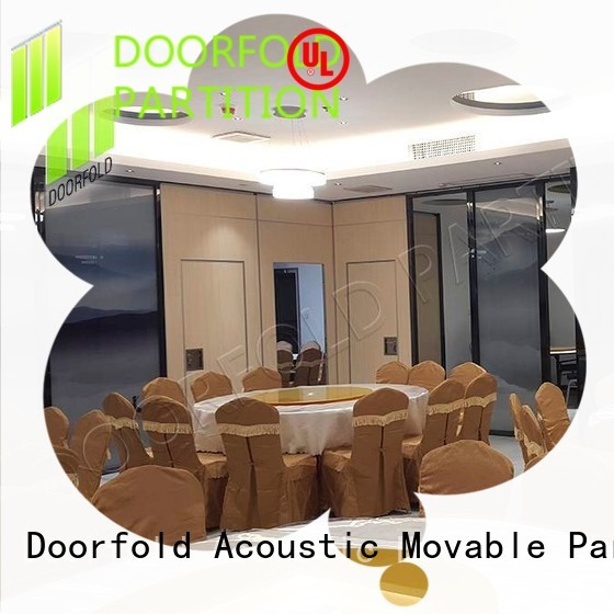 simple-structure hall acoustic movable partitions free design for office