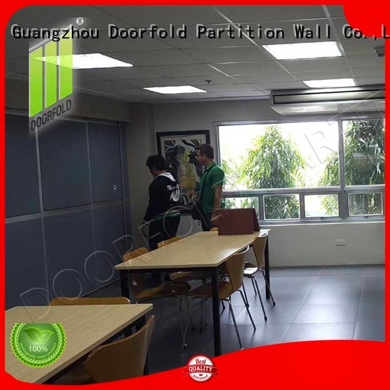 Doorfold movable partition Brand soundproof collapsible wall soundproof office partitions sliding