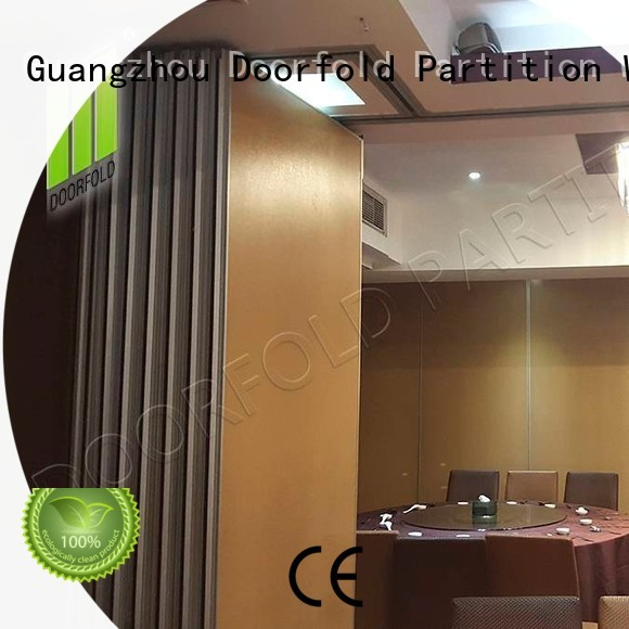 flexible sliding folding partition cheapest factory price for restaurant