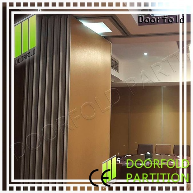 Doorfold international sliding room partitions cheapest factory price for conference