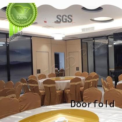 Doorfold divider acoustic sliding folding partition fast delivery